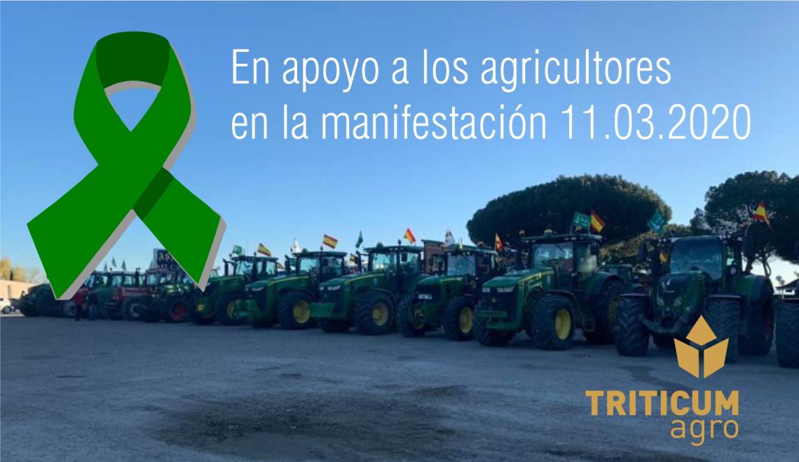 Triticum-Agro con los agrucultores