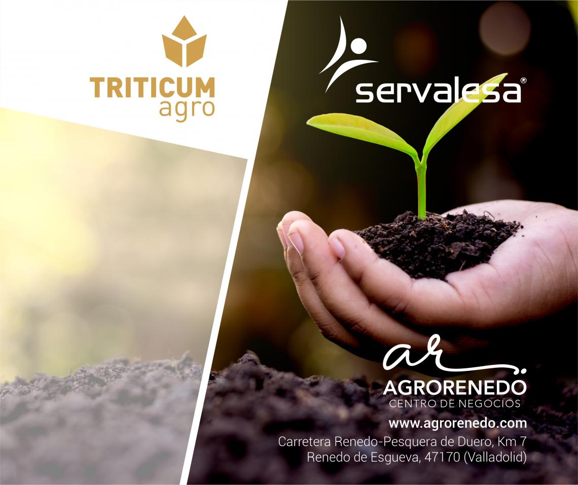 TRITICUM-AGRO NUEVO DISTRIBUIDOR EN EXCLUSIVA DE SERVALESA EN VALLADOLID Y SEGOVIA